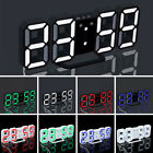 LED Digital Large Big Jumbo Snooze Wall Room Desk Alarm Clock Number Display #A#