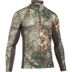 Under Armour Tactical Base Extreme 1/4 Zip Mens Layer Top - Camo All Sizes