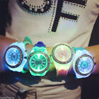 Women Geneva LED Backlight Crystal Quartz Wrist Watch Sport Utility image