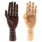 1x Left Hand Body Artist Model Jointed Articulated Wood Sculpture Mannequin