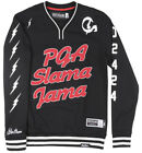 Post Game Slama Jama Basketball Crewneck Jersey Pullover Sweatshirt Mens Black