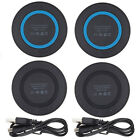 2 Pack Qi Wireless Charger Slim Charging Pad Mat for iPhone X 8 / 8 Plus LG G6
