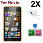 2*Tempered Glass Screen Protector Film For Nokia Lumia 530 830 650 820 930 920T