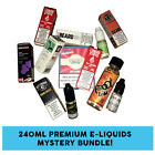 24x10ml Premium E-Liquid Mystery Bundle - Nasty Juice, Vape Wild & more!