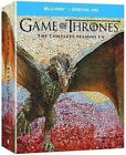 Game of Thrones: The Complete Seasons 1-6 (Blu-ray Disc, 2016)