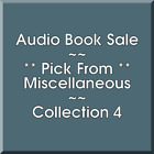 Audio Book Sale: Miscellaneous (4) - Pick what you want to save