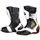 Motorbike leather boots for Men SPYKE ROCKER Water Resistant with protections