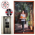 Insect Door Curtain Screen Magnetic Mesh Net Wasp Fly Bug Mosquito Hands Free