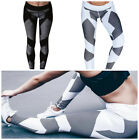 Women Yoga Set Running Pants Gym Workout Fitness Clothes Tights Sport Wear New