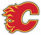 Calgary Flames Vinyl Sticker Decal *SIZES*  Red Cornhole Truck Wall Bumper Car $22.99 USD on eBay