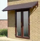 Brown Cottesbrooke 2880 Door canopy/ Rain shelter & choice of roof tile colours