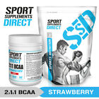 STRAWBERRY BCAA 2:1:1 - FLAVOURED BRANCHED CHAIN AMINO ACID