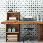 Roommates Modern Abstract Geometric Peel and Stick Wallpaper