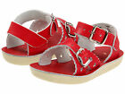 NEW  INFANT TODDLER SALT WATER SANDAL SWEETHEART RED 1404 SUN-SAN BY HOY SHOES