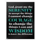 Serenity Prayer Courage Wisdom Home Business Office Sign