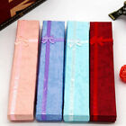 1 Pc Bowknot Long Necklace Bracelet Display Storage Case Jewelry Gift Box Novel