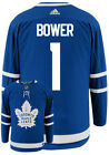 JOHNNY BOWER TORONTO MAPLE LEAFS ADIDAS AUTHENTIC HOME NHL HOCKEY JERSEY