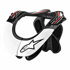 Alpinestars BNS Pro Neck Support Brace Motocross Dirtbike - Black/White/Red