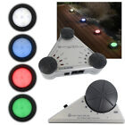 Colour Changing Deck Lights Set 4 Round 75mm LED Electric Recess Indoor Outdoor