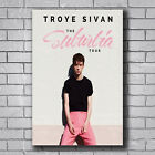 New Troye Sivan Suburbia Tour Pop Music Cover Custom Poster Print Art Decor T662