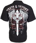EIGHTY EIGHT by AFFLICTION Mens BUTTON DOWN Shirt TRUTH Biker BKE UFC Roar $48