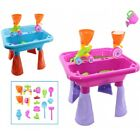Kids Large Sand and Water Table Garden Sandpit Play Set Beach Toy Watering Can