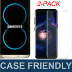 2X Full Tempered Glass Screen Protector For Samsung Galaxy S9 S8 / S8 Plus Lot