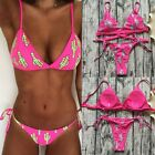 Women Summer Swimwear Bikini Set Push-up Padded Bra Bathing Suit Swimsuit Lot