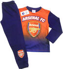 NEW Authentic Official Boys Arsenal FC Badge Pyjamas Age 4 to 13 Years Football
