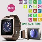 Bluetooth Smart Watch Touch Screen Multiple Languages Support SIM Card Phone US