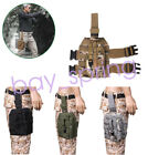 Tactical Holster Platform Drop-Leg Nylon Panel w/Pistol Holster Hunting bag