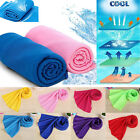 Ice Cold Enduring Running Jogging Gym Chilly Pad Instant Cooling Towel Sports UP