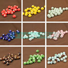 NEW 10pcs 10mm Round Ceramic Charms Loose Spacer Beads DIY Jewelry Findings