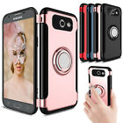 For Samsung Galaxy J3 Luna Pro/Emerge/Prime Hybrid Ring Holder Stand Case Cover