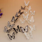 off the wall powerball - 18Pcs DIY 3D Butterfly Sticker Home Decoration PVC Art Wall Decal Mural