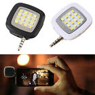 Portable 16 LED Selfie Flash Fill Flash Light for Samsung iPhone Smartphone high
