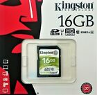 Kingston 16GB 32GB 64GB 128GB SD SDHC SDXC UHS-1 class 10 SD Karte bis zu 80MB/S