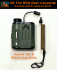 Внешний вид - Hunting Fishing Lanyard Coyote & Black Rangefinder GPS Bino Harness Paracord BA
