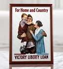 WW1+American+Propaganda+Poster+-+For+Home+and+Country%2C+Liberty+Loan+Poster