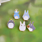 New 5 Styles Lovely Totoro Anime Cute Alloy Pins Buttons Brooch Enamel Trendy