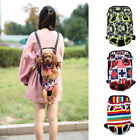 Canvas Pet Puppy Carrier Backpack Front Tote Carrier Net Bag for Dogs and Cats