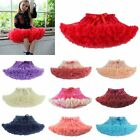 Внешний вид - Child Girl Tutu Fluffy Party Skirt Princess Kid Ballet Pettiskirt Dancewear 0-8T