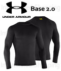 Under Armour Men's 1239724 UA Base Layer 2.0 Wicking Fitted Long-Sleeve Shirt