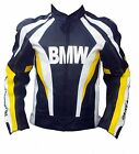 BMW Motorcycle Leather Jacket Sports Motorbike Cowhide Leather Racing Jacket