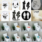 3D Toilet Seat Wall Sticker Vinyl Art Wallpaper Removable Bathroom Decals Decor