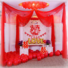 Hot 10M Top Table Chair Swags Sheer Organza Fabric Wedding Party Decoration