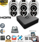 Hikvision CCTV 8CH HD 1080P DVR IR Outdoor Security 2.4MP Camera System Kit HDD