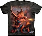 The Mountain Unisex Adult Fire Dragon Anne Stokes T Shirt