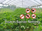 Insect Screen Garden Netting against Bugs Birds Squirrels White-Various Size image