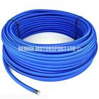 PTFE Teflon Lined Blue Nylon Braided Hose, Fuel Oil (PICK SIZE) Demon Motorsport